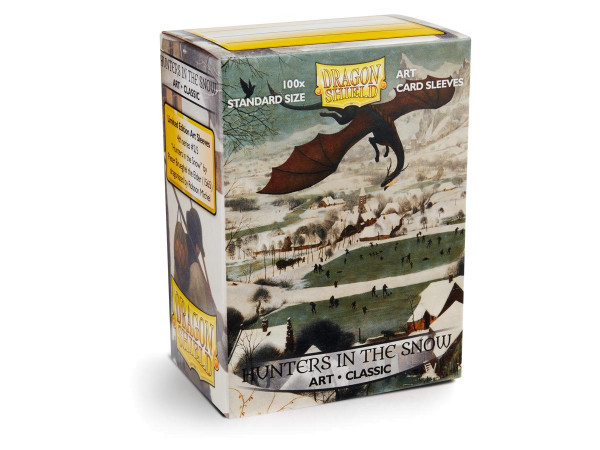 Dragon Shield: ART Sleeves Classic Hunters in the Snow (100)