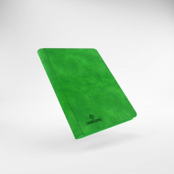 Gamegenic - Zip-Up Album 18-Pocket Green