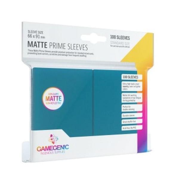 Gamegenic - Matte Prime Sleeves Blue (100 Sleeves)