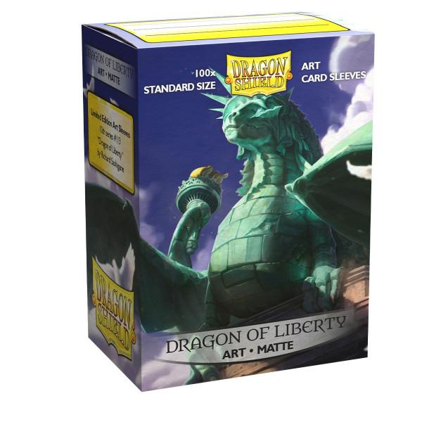 Dragon Shield: ART Sleeves Matte Classic Dragon of Liberty (100)