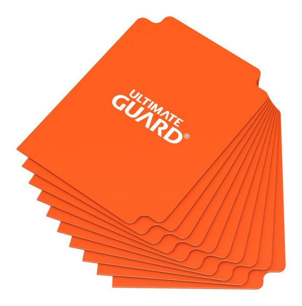 Card Dividers Standard Size Orange