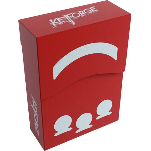 Gamegenic KeyForge Aries Deck Box - Red