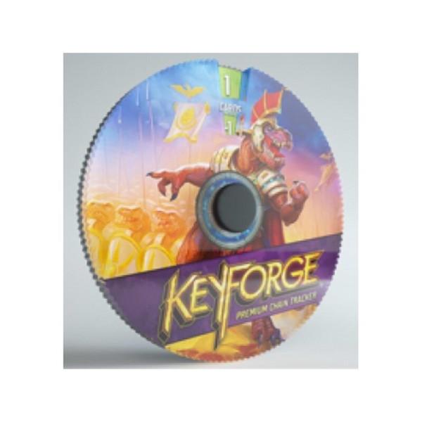 Gamegenic KeyForge Premium Chain Tracker - Saurians