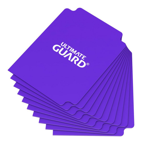 Card Dividers Standard Size Purple