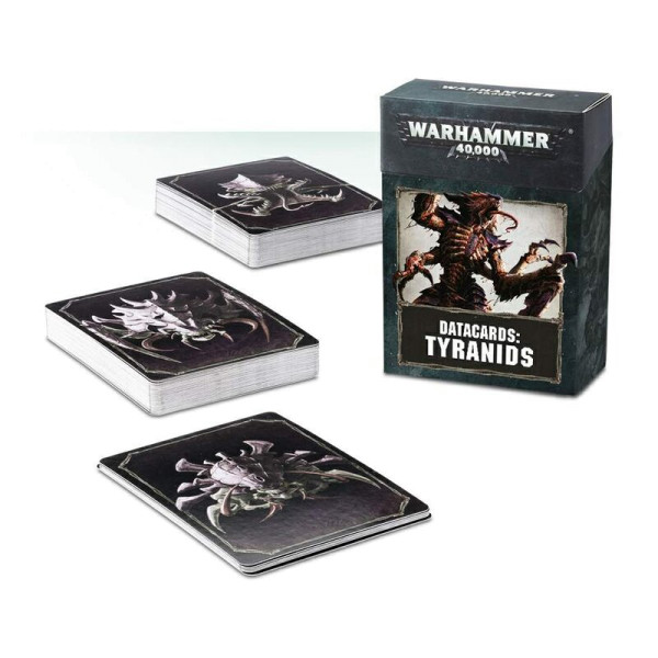 DATACARDS: TYRANIDS (ENG) (51-02-60)