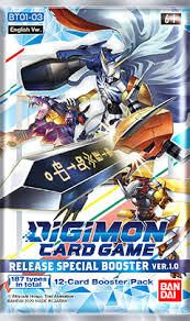 BANDAI Digimon Card Game: Release Special Booster VER.1.0 (ENG) 208