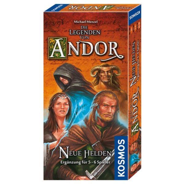 Die Legenden von Andor - Neue Helden 5-6 Spieler