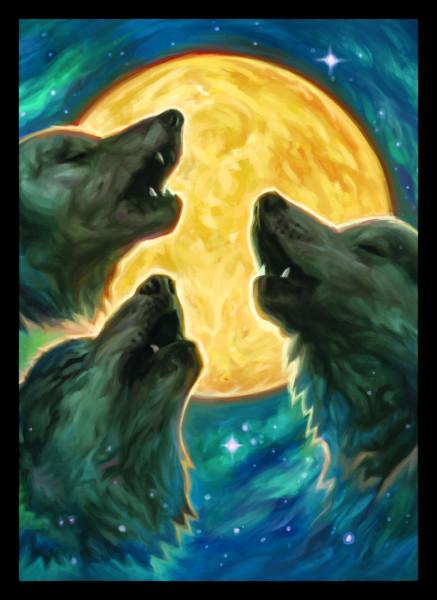 3 Wolf Moon - Matte Sleeves