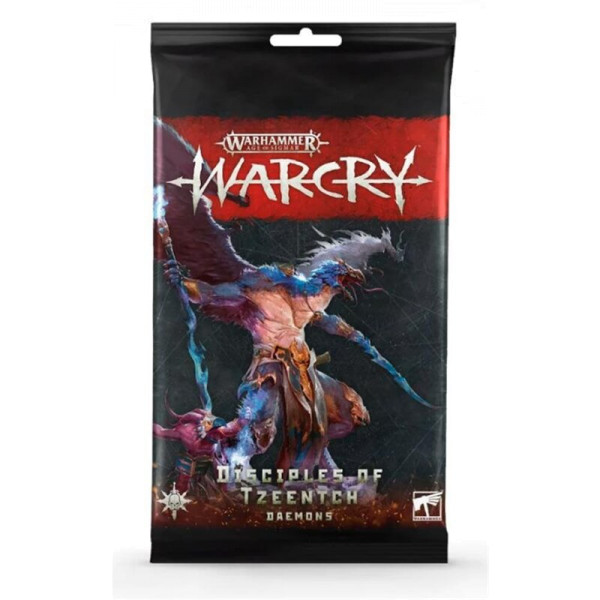 WARCRY: DISCIPLES OF TZEENTCH CARD PACK (111-47)