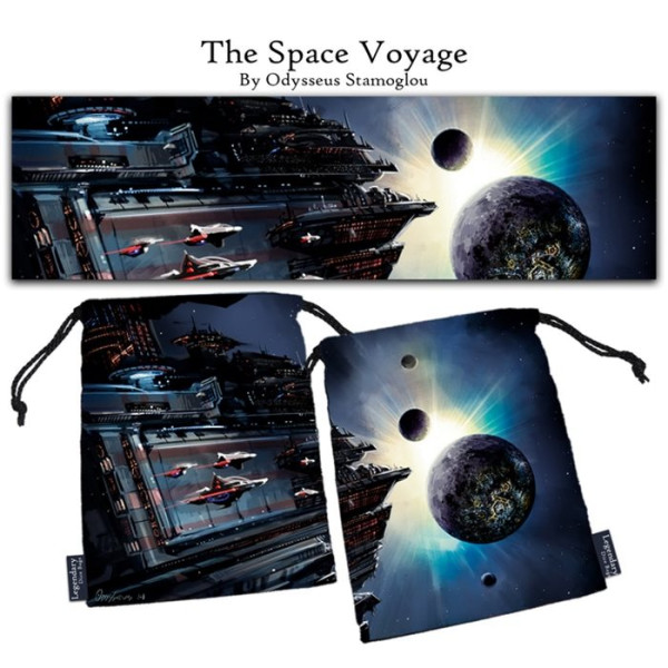 Legendary Dice Bag: The Space Voyage