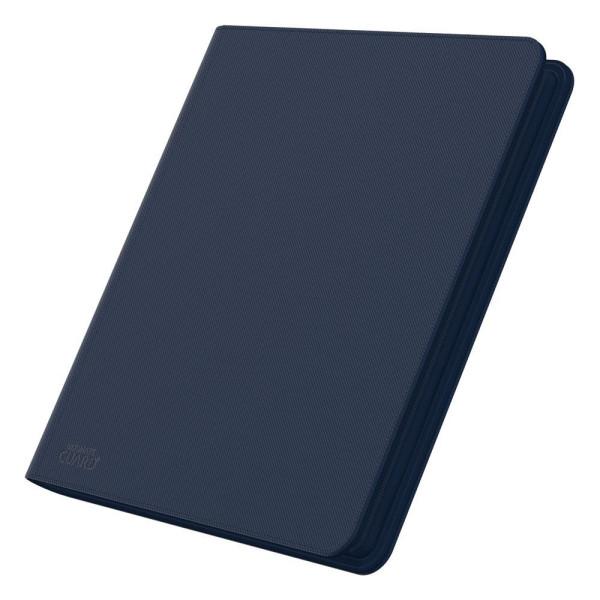 12-Pocket QuadRow ZipFolio XenoSkin™ Blau