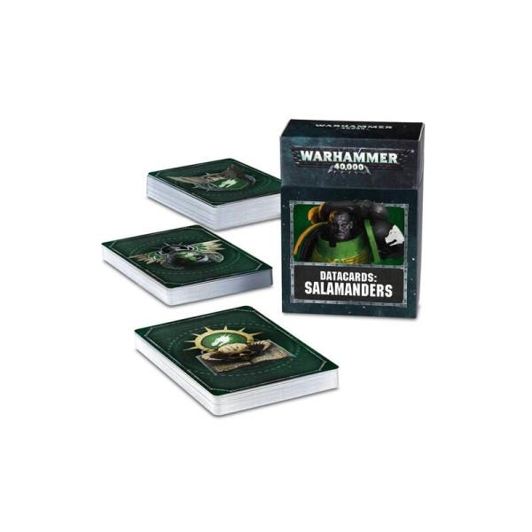DATACARDS: SALAMANDERS (ENG) (53-50)