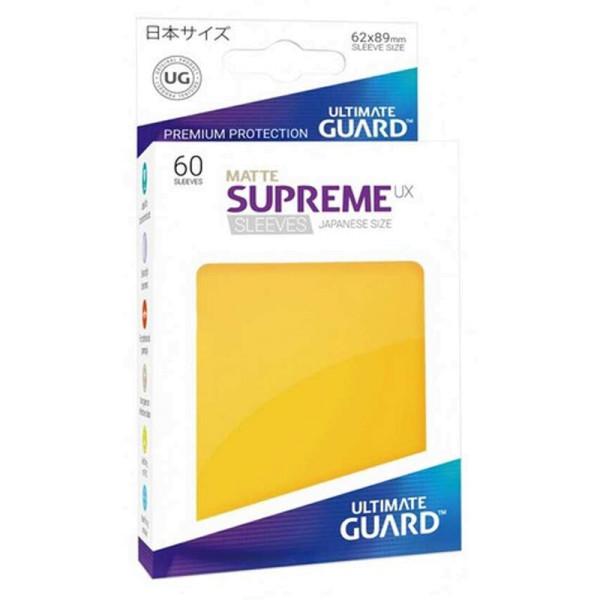 Supreme UX Sleeves Japanische Größe Matte Yellow (60)
