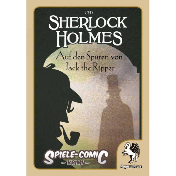 Spiele-Comic Krimi: Sherlock Holmes - Auf den Spuren von Jack the Ripper (Hardcover)