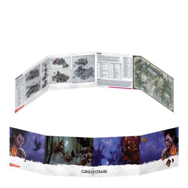 Dungeon Masters Screen - Fluch des Strahd
