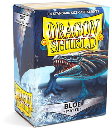 Dragon Shield: Matte Blue (100)