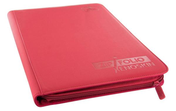 9-Pocket ZipFolio XenoSkin™ Rot
