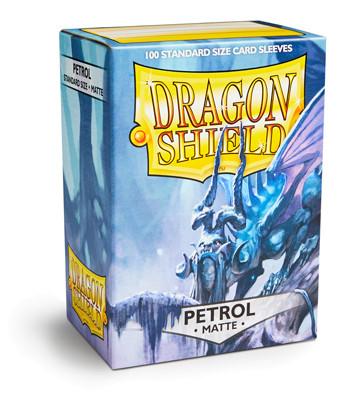 Dragon Shield: Matte Petrol (100)
