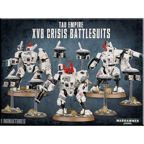 TAU EMPIRE XV8 CRISIS BATTLESUITS (56-07)
