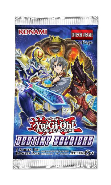 Destiny Soldiers - Booster (DEU) 1. Auflage
