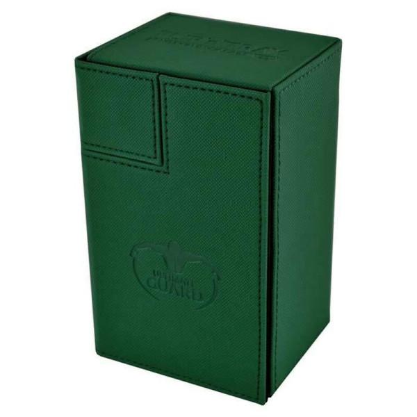 Flip´n´Tray Deck Case 80+ Standard Size XenoSkin™ Green