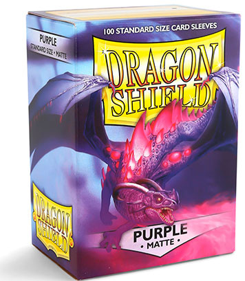 Dragon Shield: Matte Purple (100)