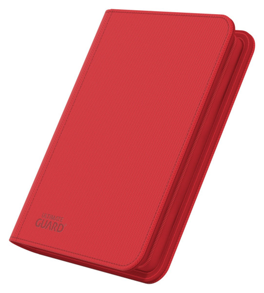 4-Pocket ZipFolio XenoSkin™ Red