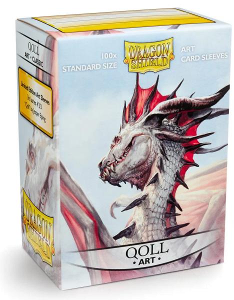 Dragon Shield: Classic Art Qoll (100)