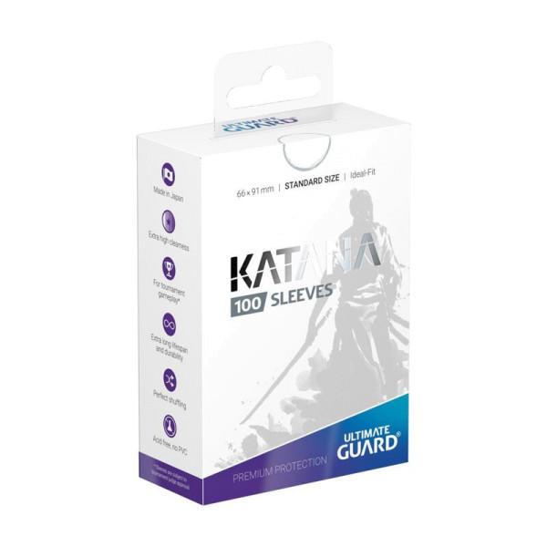 Katana Sleeves Standard Size White (100)