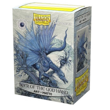 Dragon Shield: ART Sleeves Matte Classic Seer of the God Hand (100)