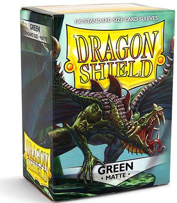 Dragon Shield: Matte Green (100)