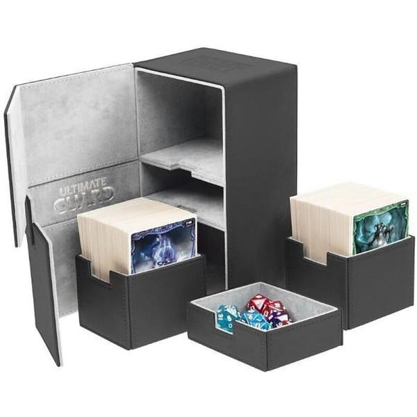 Twin Flip´n´Tray Deck Case 200+ Standard Size XenoSkin™ Black