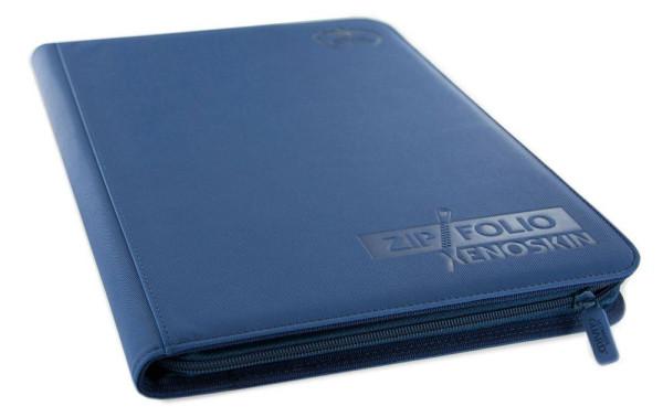 9-Pocket ZipFolio XenoSkin™ Blau