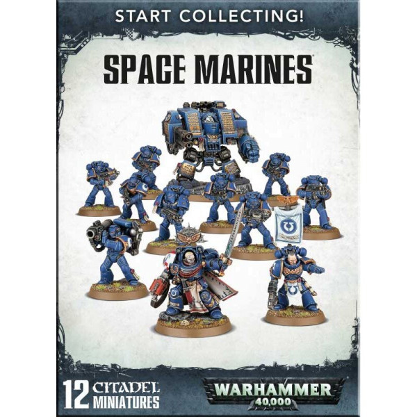 START COLLECTING! SPACE MARINES (70-48)