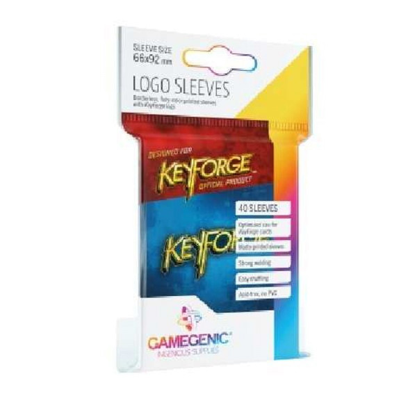 Gamegenic KeyForge Logo Sleeves - Blue (40 Sleeves)