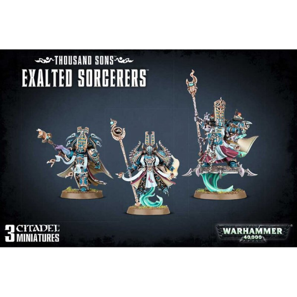 THOUSAND SONS EXALTED SORCERERS (43-39)