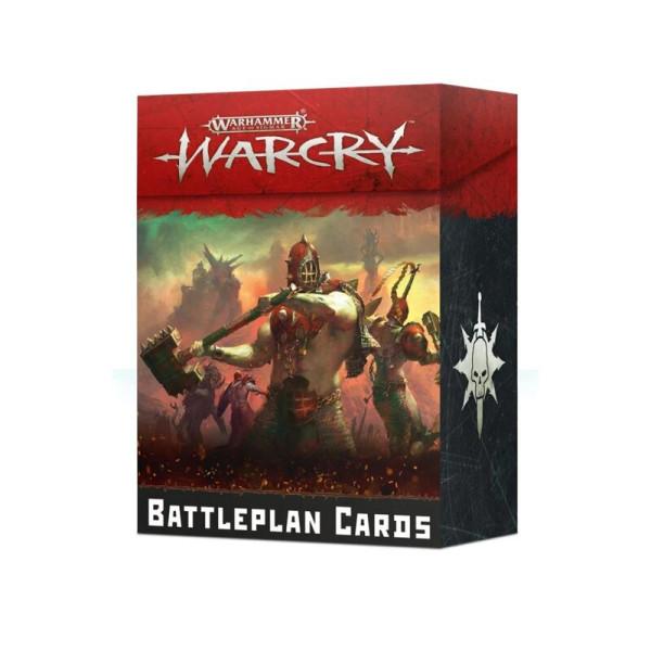 WARCRY: BATTLEPLAN CARDS (ENG) (111-02-60)