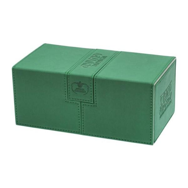 Twin Flip´n´Tray Deck Case 200+ Standard Size XenoSkin™ Green