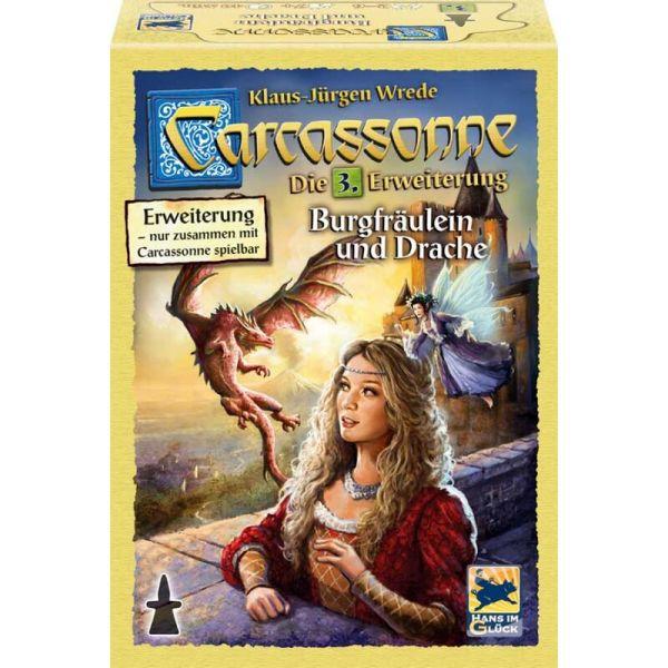 Carcassonne - Burgfräulein und Drache Die 3. Erweiterung