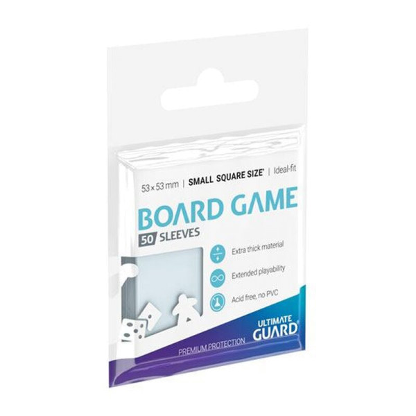 Premium Soft Sleeves for Board Game Cards Small Square (50)