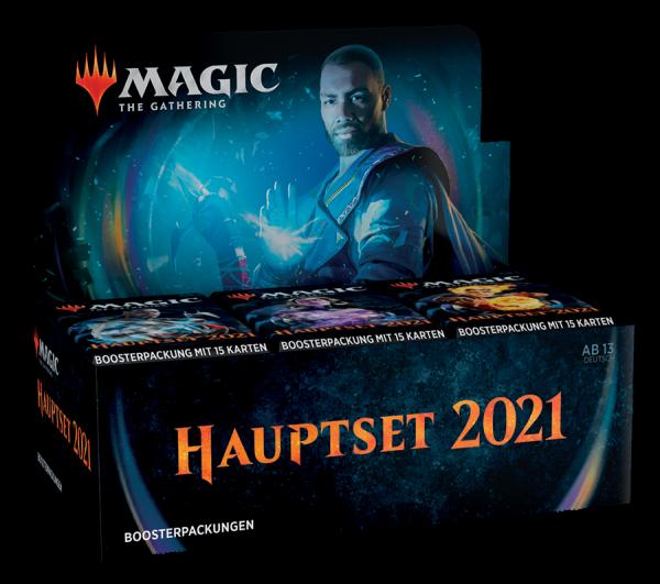Hauptset 2021 - Draft Booster Display (DEU)