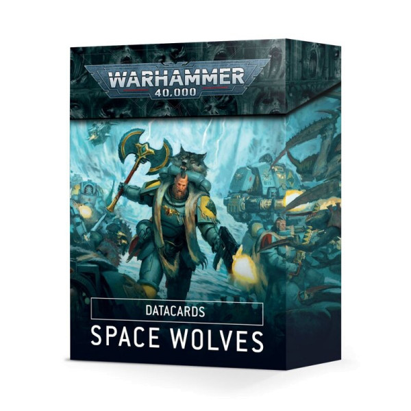 DATACARDS: SPACE WOLVES (ENG) (53-02)