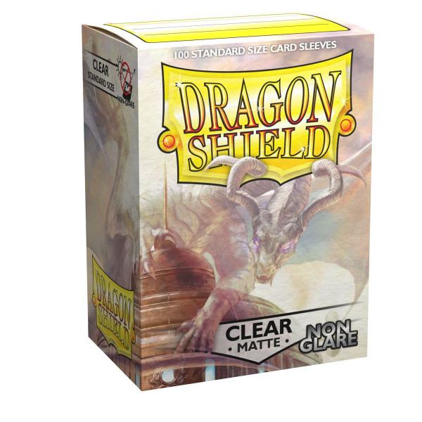 Dragon Shield: Matte Clear, Non Glare (100)