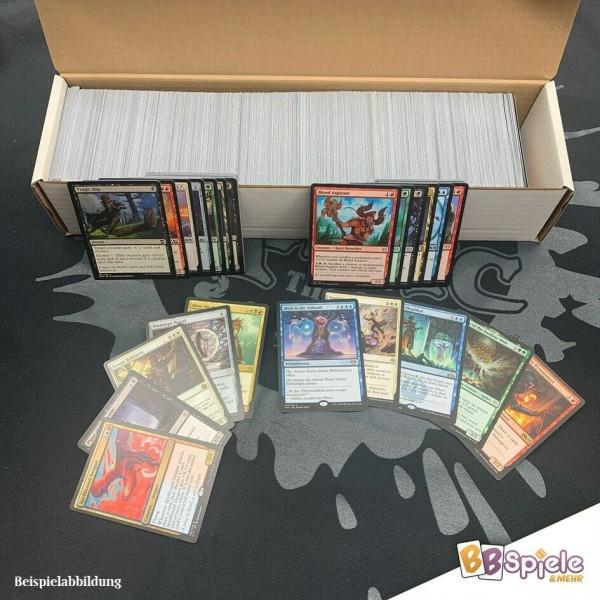 1000 Karten inkl. Uncommons + 10 Rares
