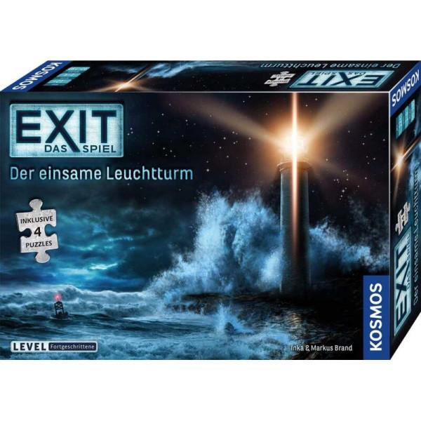 EXIT Spiel + Puzzle - Der einsame Leuchtturm (Fortgeschrittene)