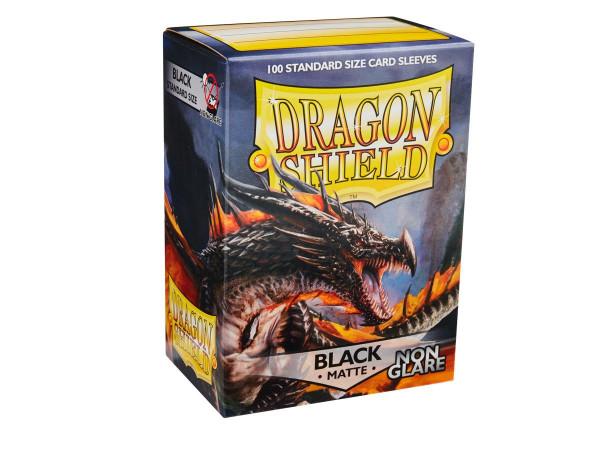 Dragon Shield: Matte Black, Non Glare (100)