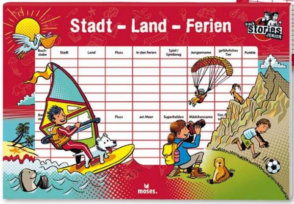 black stories Junior stadt, land, ferien
