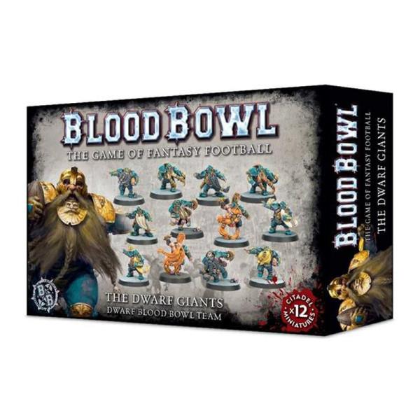 THE DWARF GIANTS BLOOD BOWL TEAM (200-17)