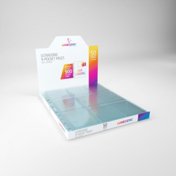 Gamegenic - Ultrasonic 9-Pocket Pages Sideloading DISPLAY