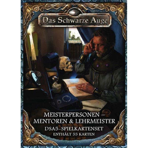 DSA5-Spielkartenset Av. Meisterp. 2 - Mentoren & Lehrmeister